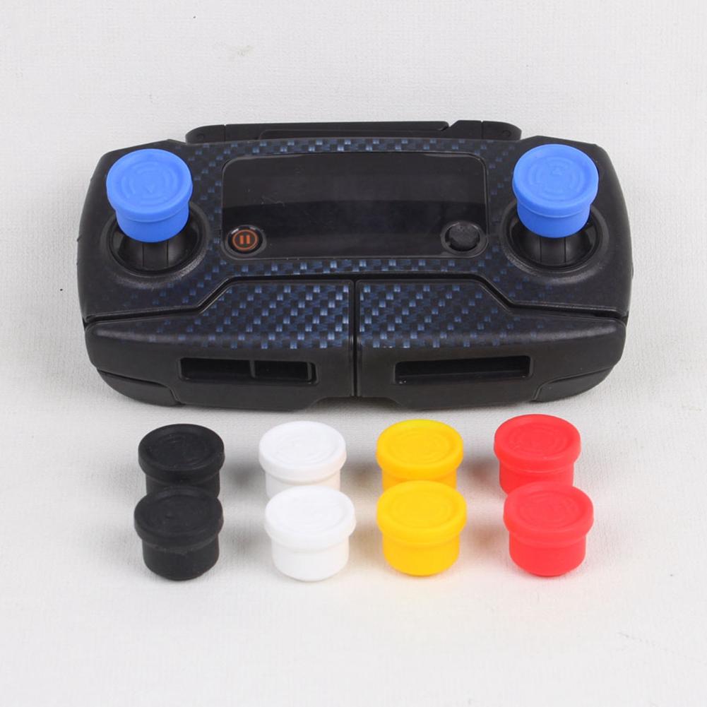 Universal Remote Controller Joysticks Silicone Rocker Protector Wearproof Pitman Fixer for Mavic PRO Phantom 3 4 Inspire Yellow
