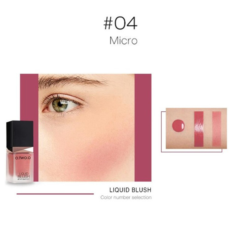 Colorful Long-lasting Liquid Blush Makeup Blush Charming Color Beauty Tools Professional Facial Makeup Cosmetics