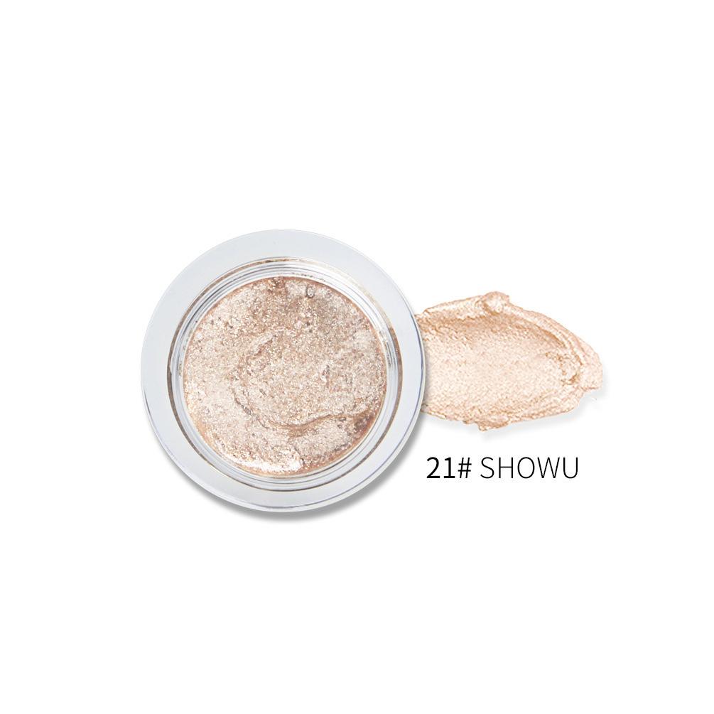 Glitter Sequin Eyeshadow Shimmer Long Lasting Waterproof Eye Shadow Cream Gel