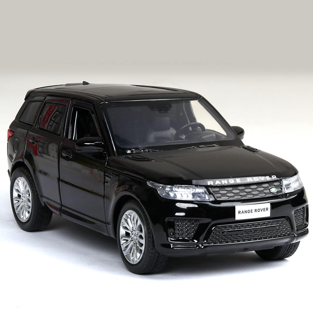 1:32 Alloy Car Model Vehicle Model Simulation Family Car Model Car Ornaments black