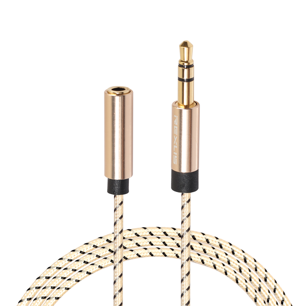 Headphone Extension Cable 3.5mm Jack Male to Female Stereo Aux Audio Extender Cord for Computer Phone Amplifier