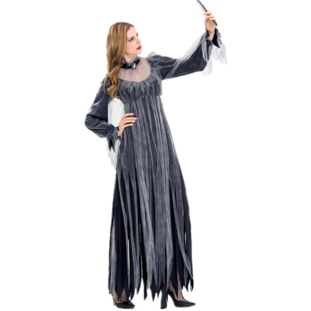 Halloween Horror Zombie Bride Costume Devil Costume 9067_XL