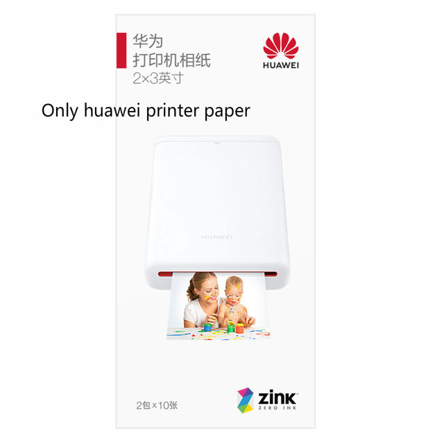 Huawei Ar Printer Printing Paper 300dpi Portable Photo Mini Pocket Bluetooth 4.1 With Diy Share 500mah Picture Printer Pocket Printer Printing Paper 3 boxes