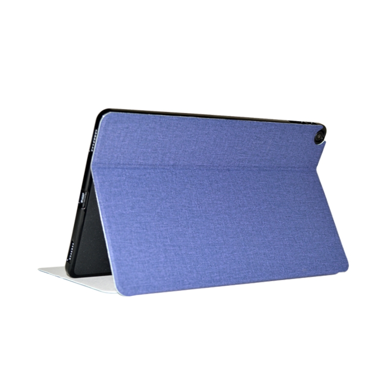 Tablet  Case For Iplay30 Pro Tablet Leather Case Bracket Protective Cover blue