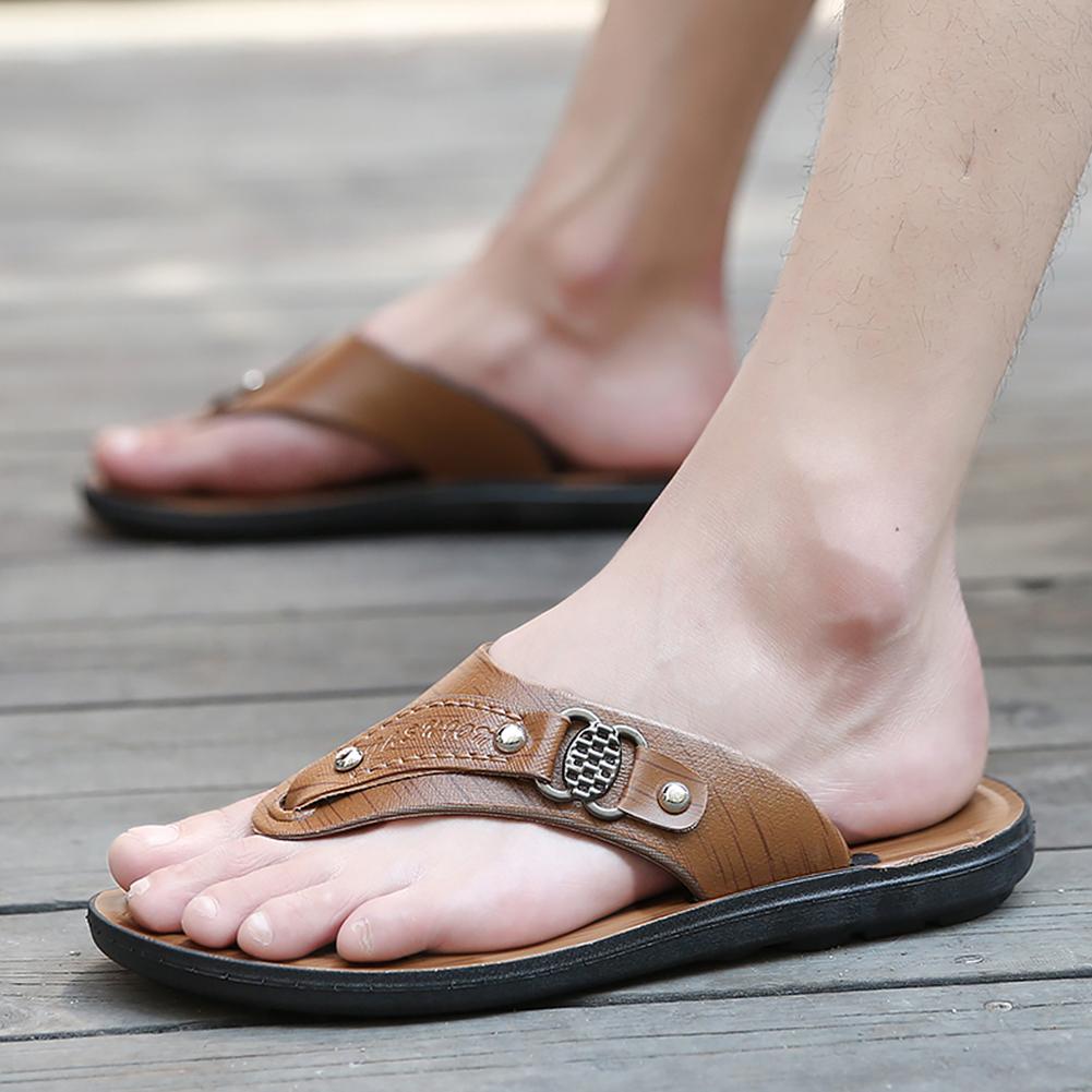 Men Casual Fashion Open-toed Fashion Flip-flops slipper