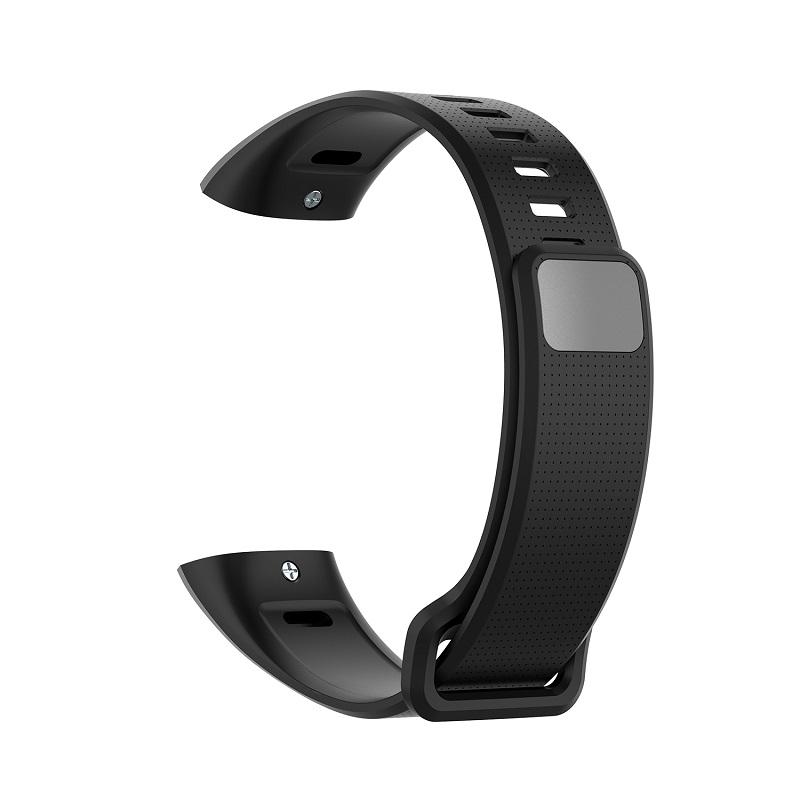 Silicone Wrist Strap For Huawei Band 2 Pro Band2 ERS-B19 ERS-B29 Sports Bracelet Straps Wristband black