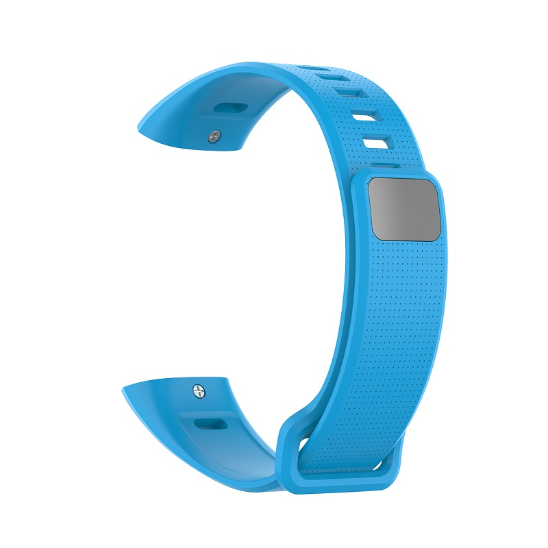 Silicone Wrist Strap For Huawei Band 2 Pro Band2 ERS-B19 ERS-B29 Sports Bracelet Straps Wristband Light blue
