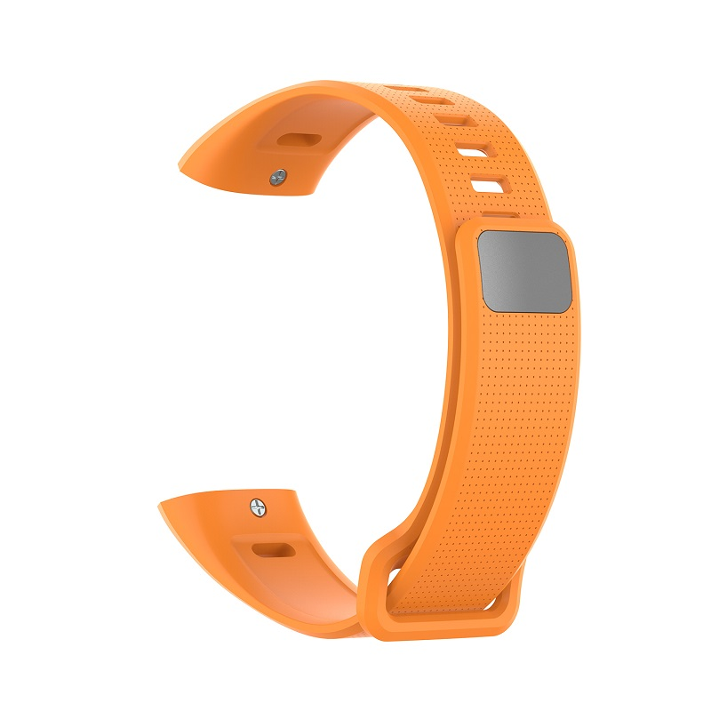 Silicone Wrist Strap For Huawei Band 2 Pro Band2 ERS-B19 ERS-B29 Sports Bracelet Straps Wristband Orange