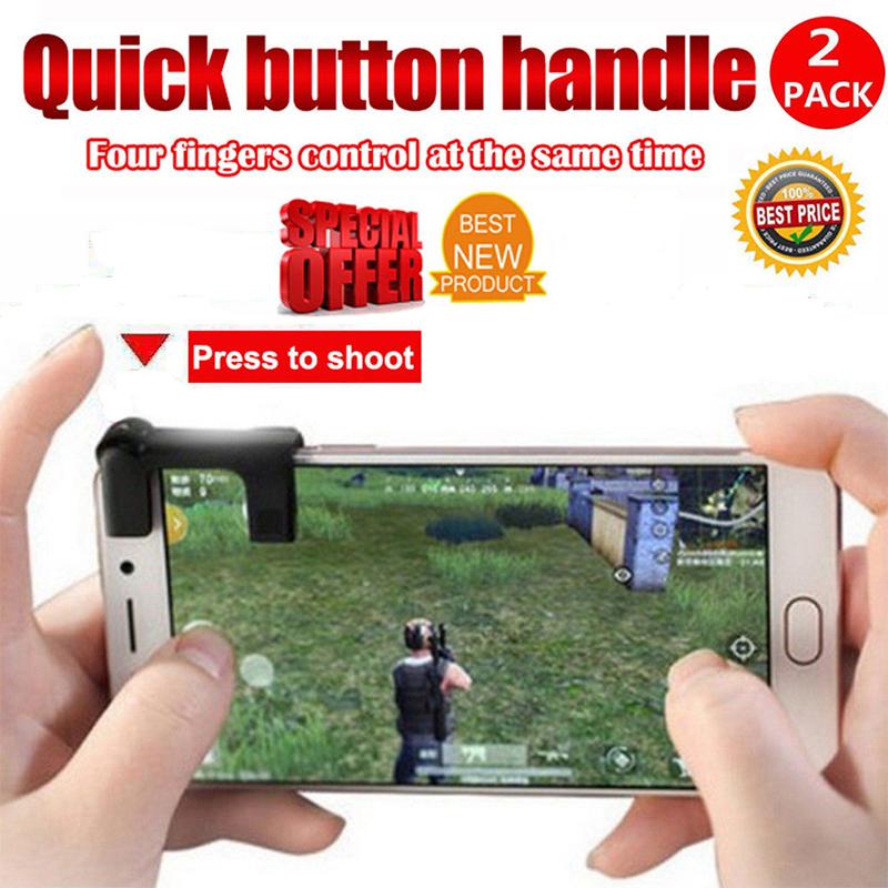 1 Pairs Mobile Phone Gaming Trigger