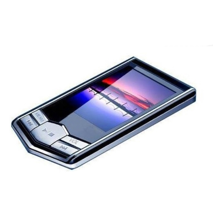 Slim MP4 Music Player with 1.8 Inch LCD Screen Media Video Game Movie FM Radio With Earphones USB black