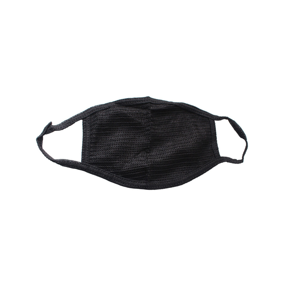 Double Layer Mask Fashionable Dust Proof Sand Proof Cycling Mask black