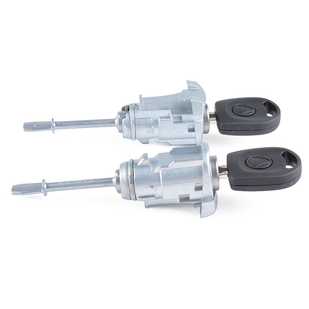 Door Lock Core Door Lock Cylinder for Seat Cordoba Ibiza III OE 6L3837167/6L3837168 Left + right