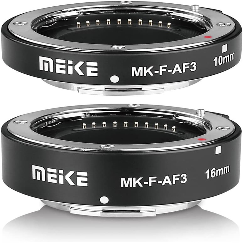 MK-F-AF3 Auto Fucus Macro Extension Tube for Compatible with All Fujifilm Mirrorless Camera black