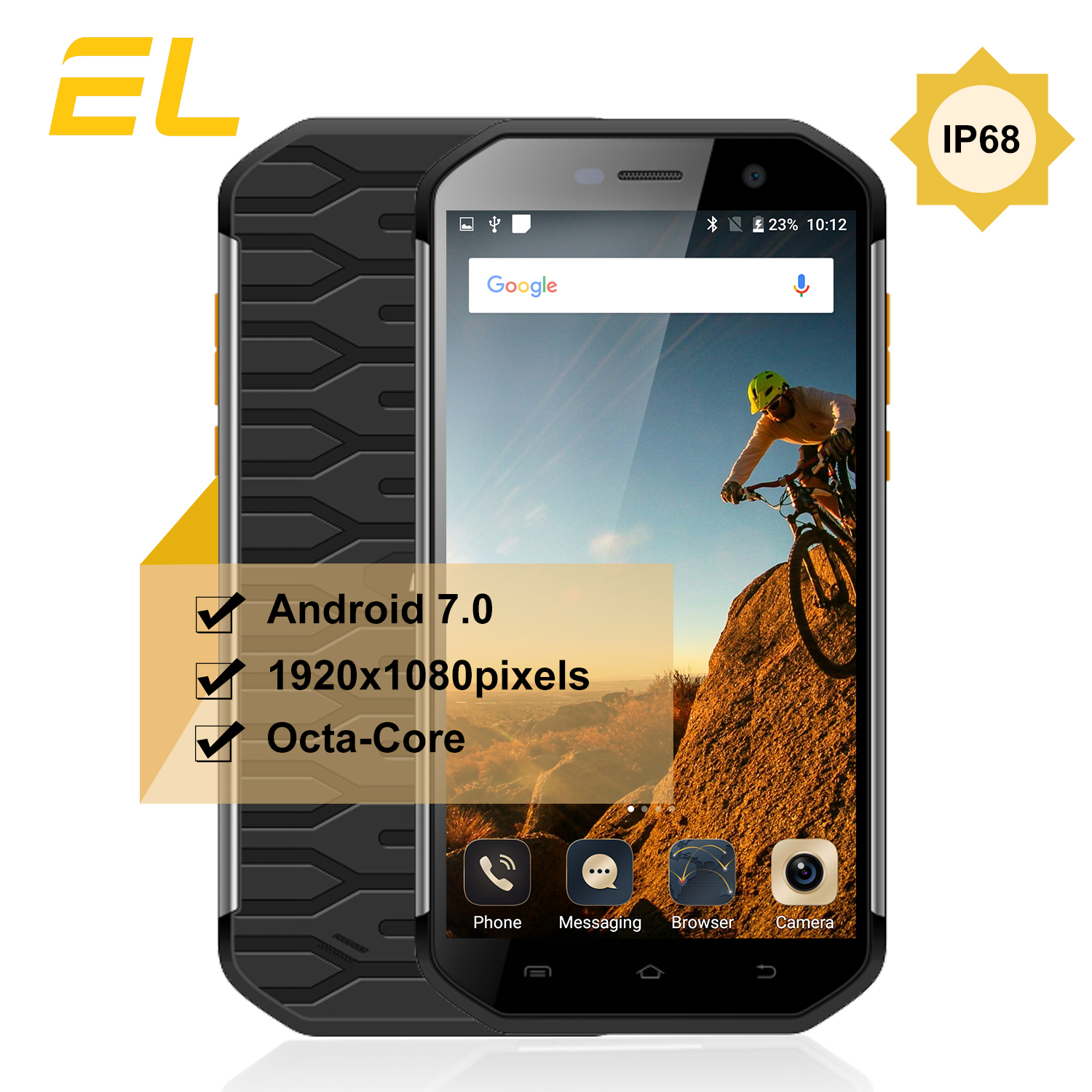 EL S60 IP68 Waterproof Mobile Phone