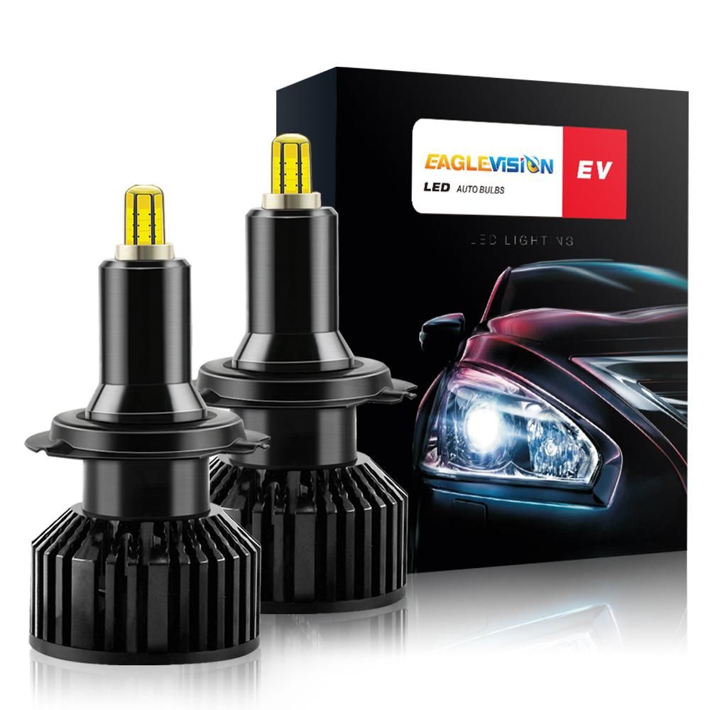 1 Pair Aluminum V8 Led Car Headlights Led Headlights Bulbs Car High Power Headlight H7