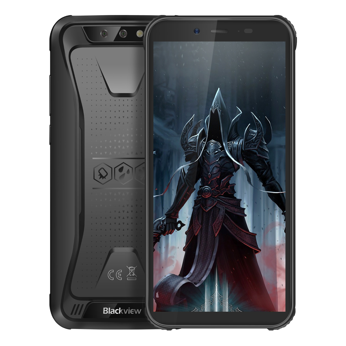 Blackview BV5500 Pro 3+16GB 4G Phone Black