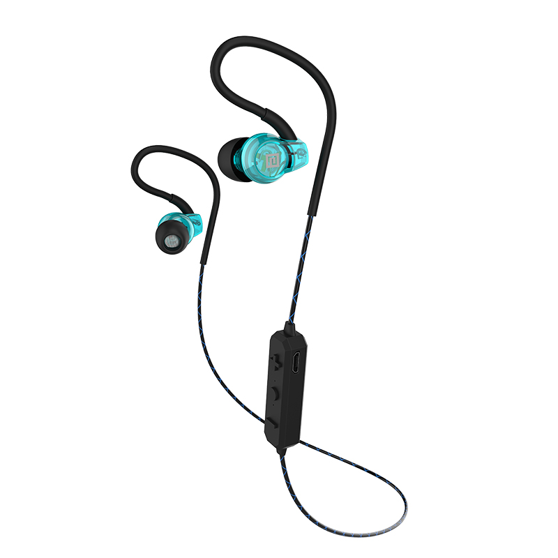 Langsdom BS80 Sport Bluetooth Earphone blue