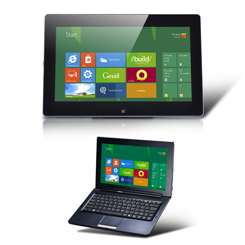 Windows 8 Compatible Tablet + Laptop - Hybrid