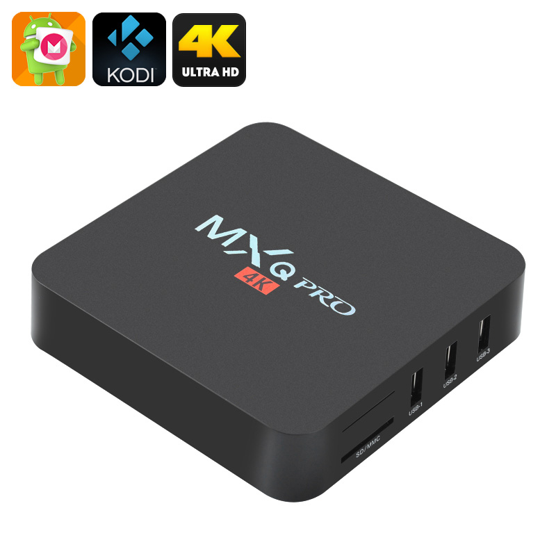MXQ Pro 4K Ultra HD TV Box