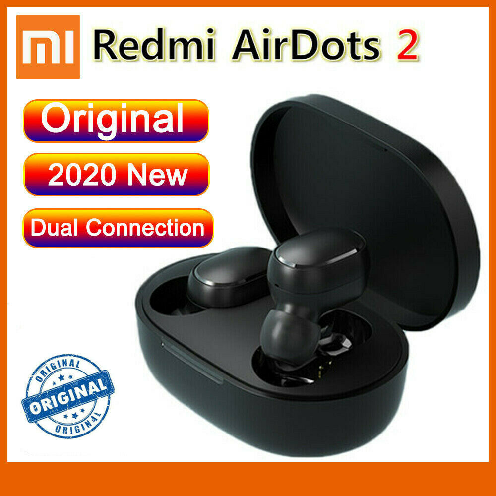Redmi Airdots 2 TWS Bluetooth Earphones Wireless Bluetooth 5.0 Gaming Headset black