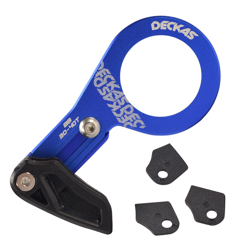 Bike Chain Guide MTB Bicycle Chain Guide Single Speed Wide Narrow Gear Chain Guide blue