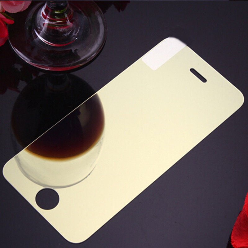 Colorful Screen Full Protector Temper Glass Film for iPhone X, 7/8, 7/8 Plus Gold