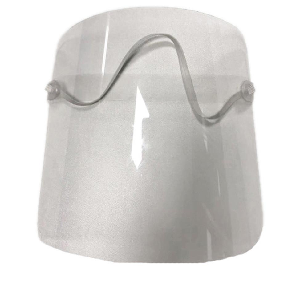1PC/3PCs Transparent PVC Plastic Head Wear Droplet-proof Face Mask 3PCS
