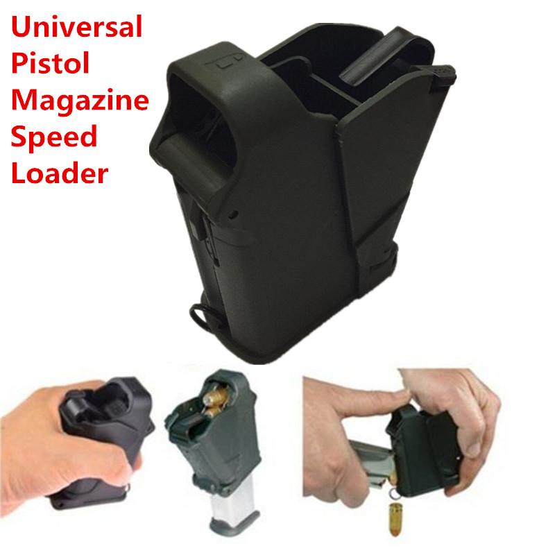 Black UpLULA Pistol Speed Nylon Loader Magazine / Unloader Universal Application Pistol Accessories