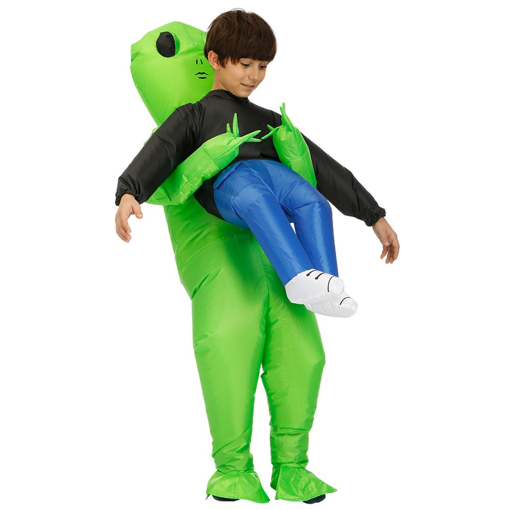 ET Alien Inflatable Clothing Adult Children Funny Show Props Clothes child