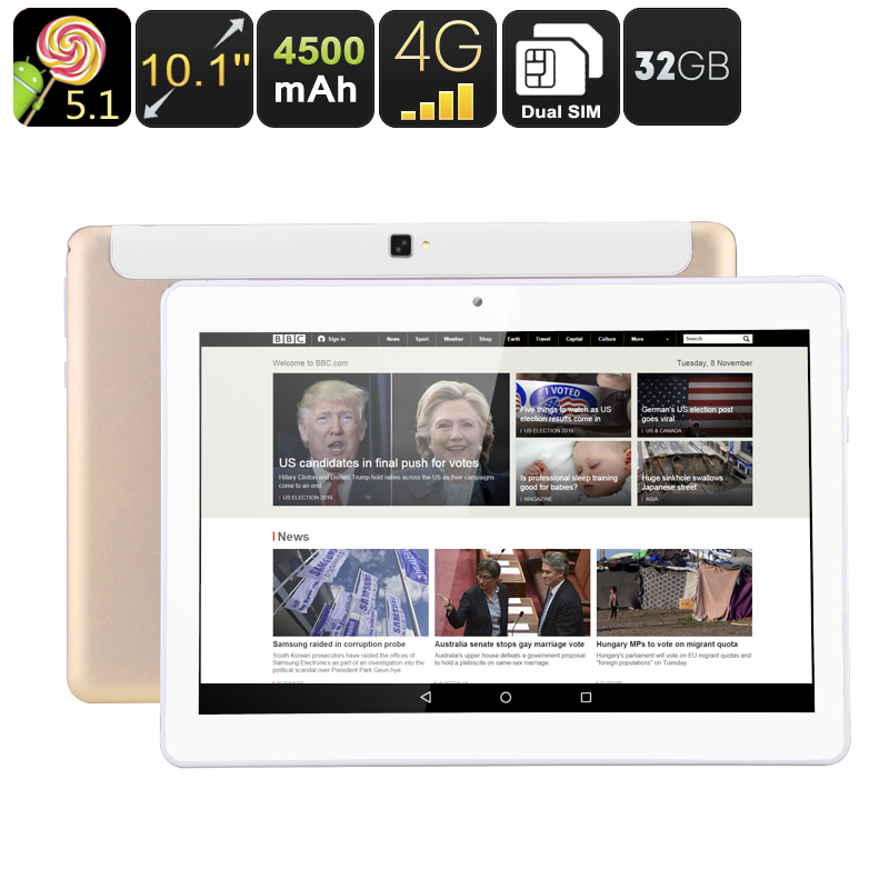 10.1 Inch Tablet PC 32GB