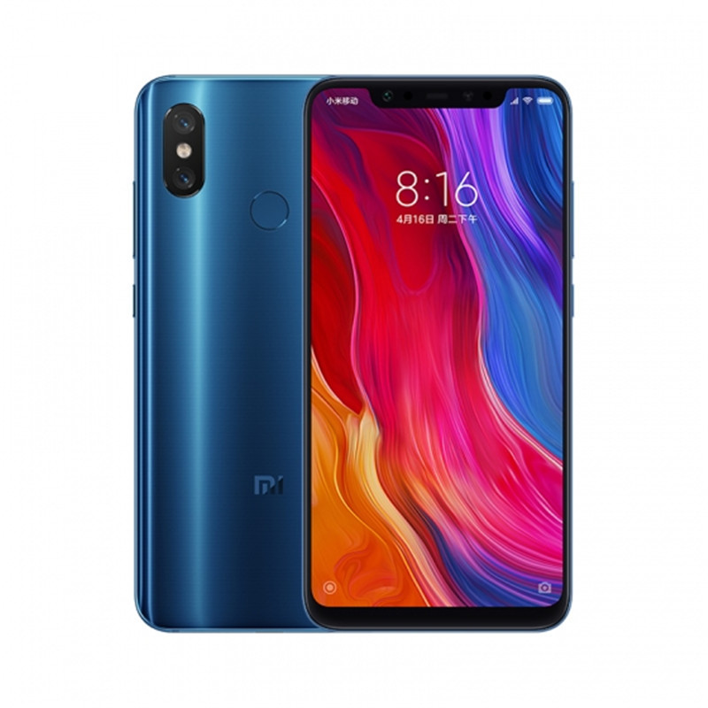 Xiaomi Mi 8 Android Phone 6+256GB Blue