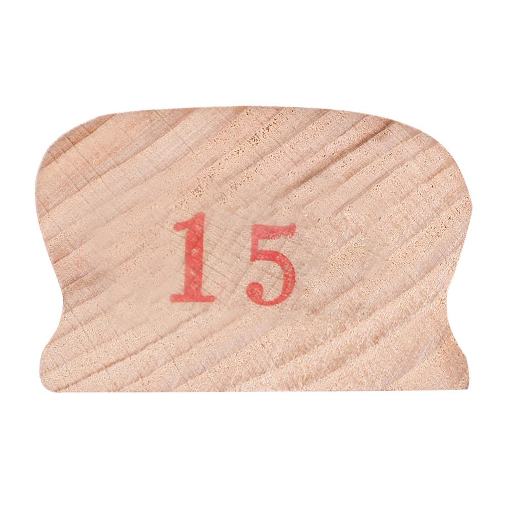 Wooden Polished Block for Guitar Bass Fret Leveling Fingerboard Luthier Tool + 2 Sandpaper 15#