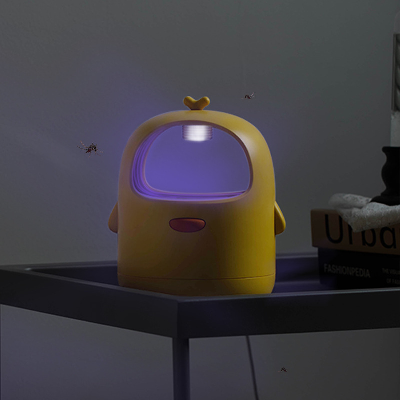 Mosquito Killer Mute Portable Electric Household Photocatalyst Lamp Pest Control Insect Killer yellow