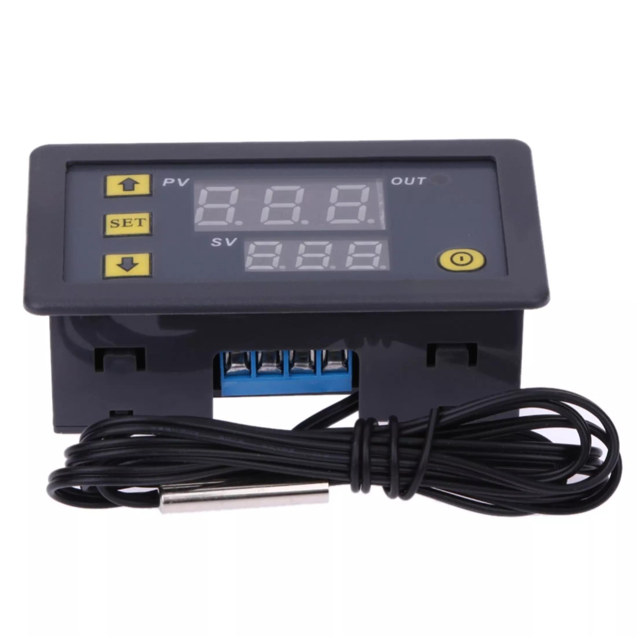 W3230 Digital  Thermostat Temperature Alarm Controller Sensor Meter Regulator  24V