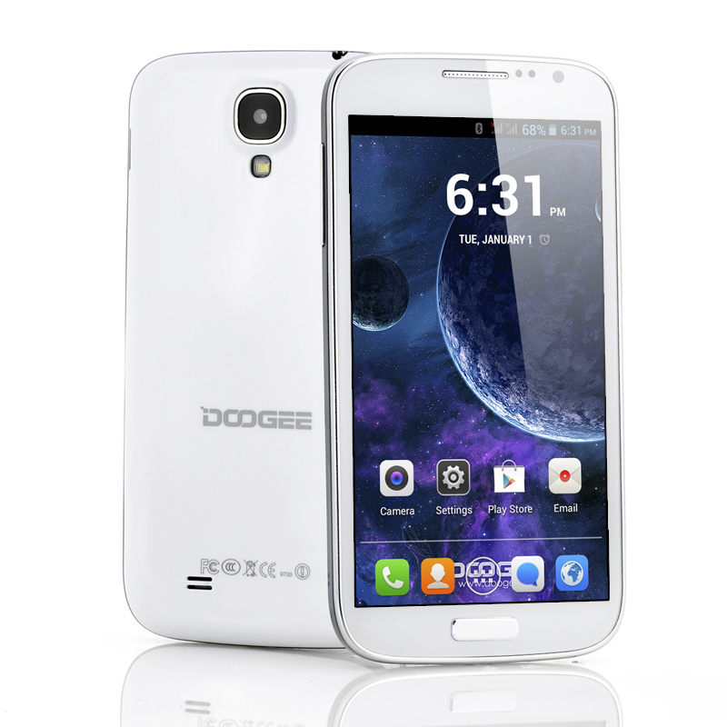 DOOGEE Voyager 5 Inch Android IPS Phone (W)