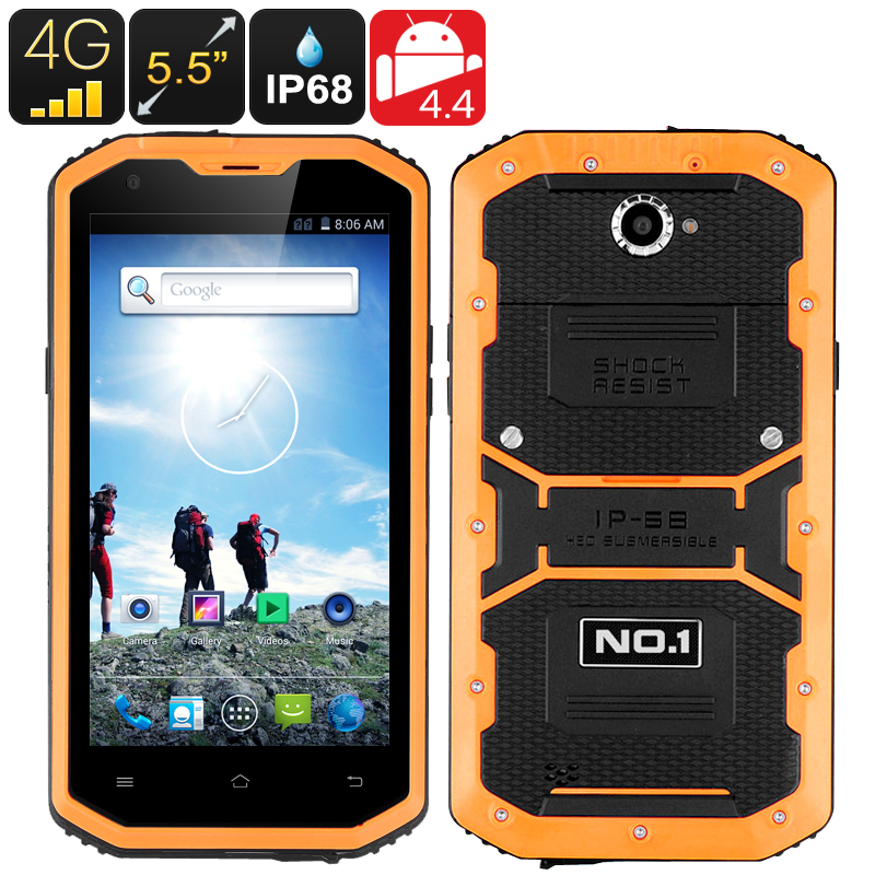 No.1 X2 4G Smartphone (Yellow)