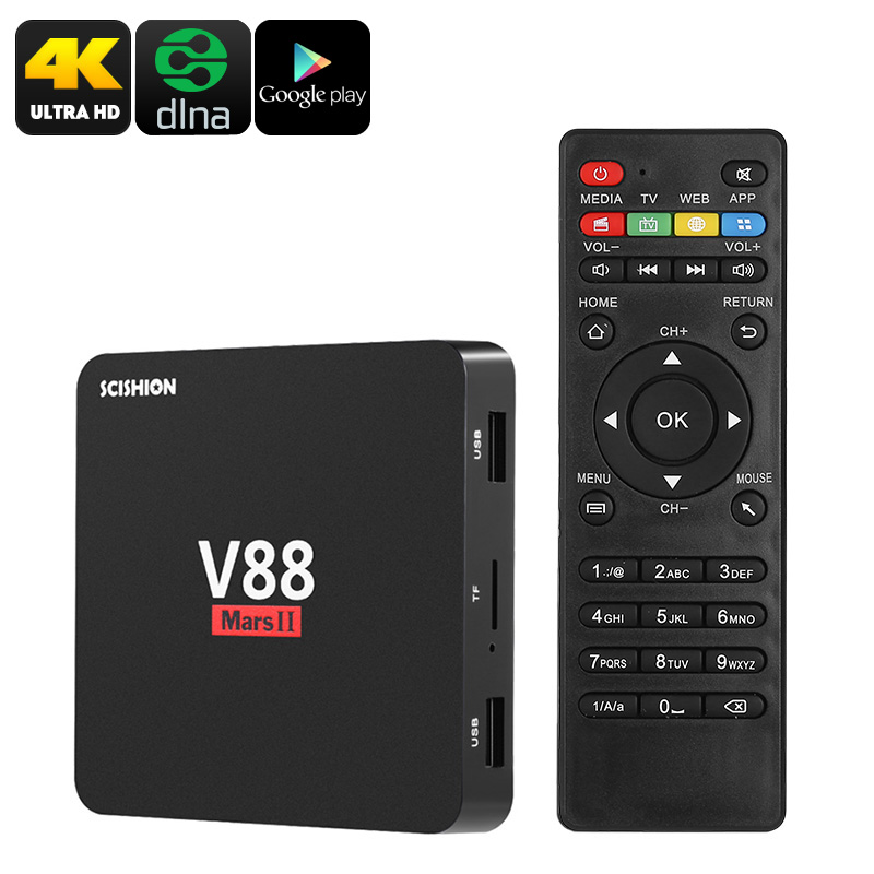 Scishion V88 Mars 2 TV Box (2+8)