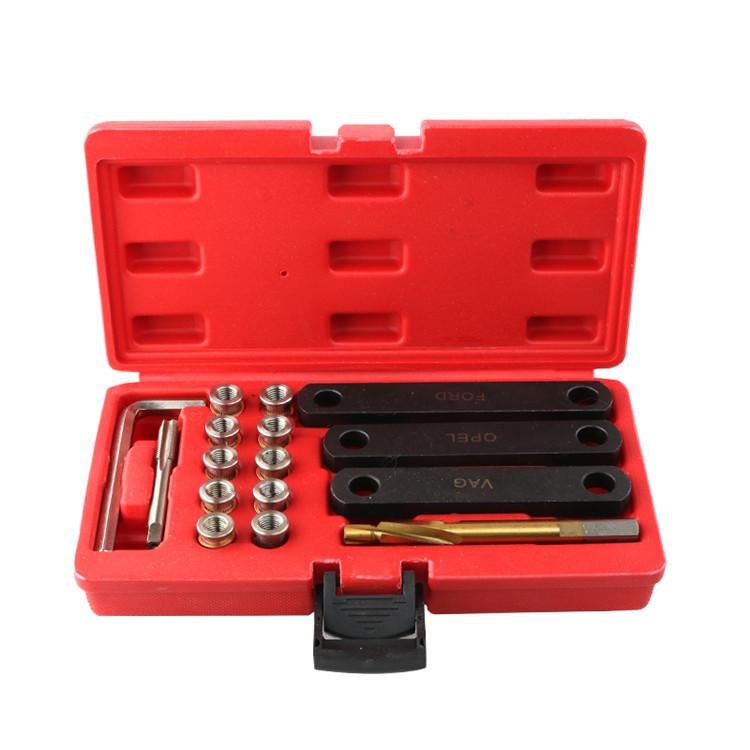 16Pcs/box Brake Caliper Thread Repair Kit M9 x 1.25 mm with Alignment Guides Tool