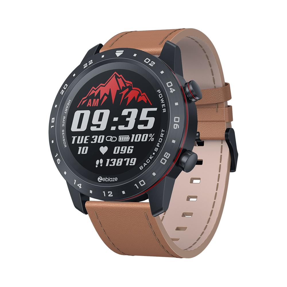 Zeblaze NEO 2 Smartwatch Health Fitness Waterproof Better Battery Life Classic Design Bluetooth 5.0 For Android/IOS Orange_Universal