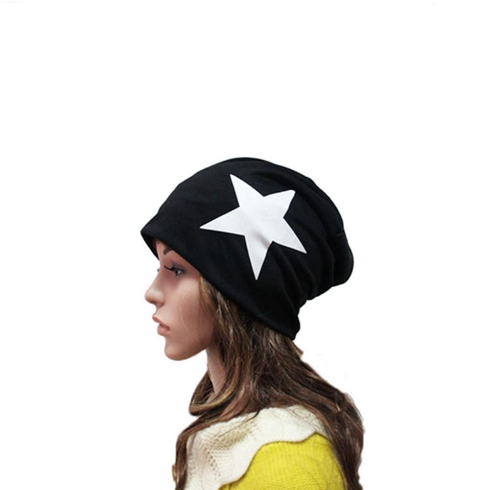 [EU Direct] New Unisex Men/Women Warm Winter Beanie Hat Slouchy Ski Hat Oversize Hip Hop Cap (Light Gray)