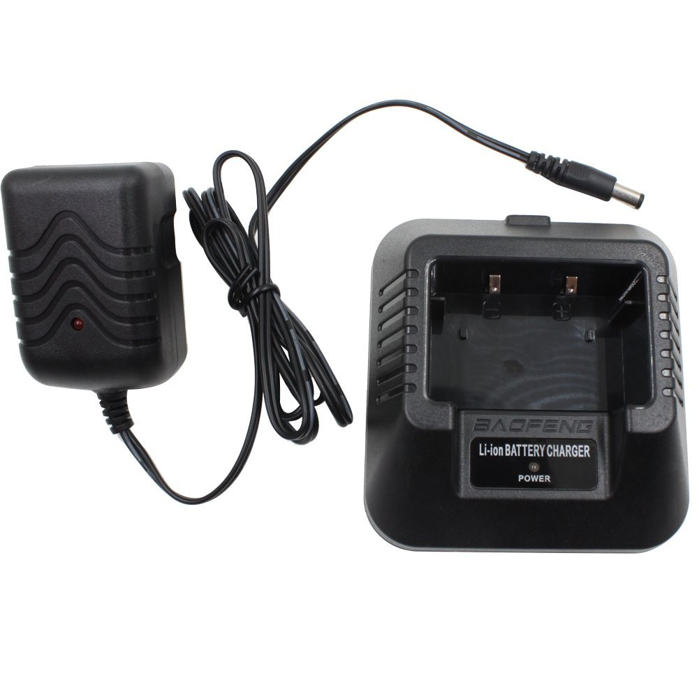 [EU Direct] BAOFENG Radio Original Desktop Charger (US type) fit for BAOFENG UV-5R 5RA 5RB 5RC 5RD 5RE 5REPLUS