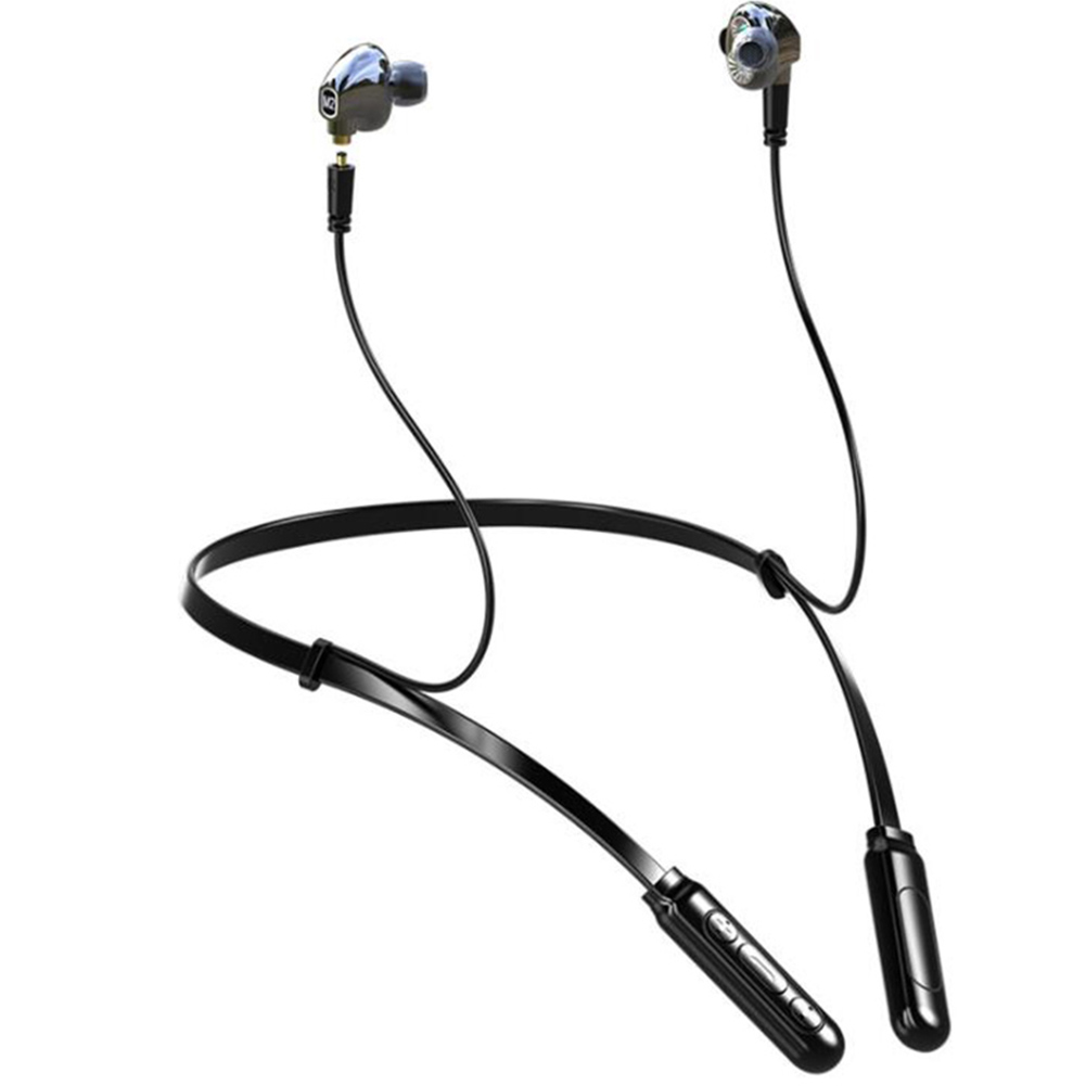 BT-MN Bluetooth V5.0 Headphones Double Mover Variable Line Real 4D Headphones for Sports and Music