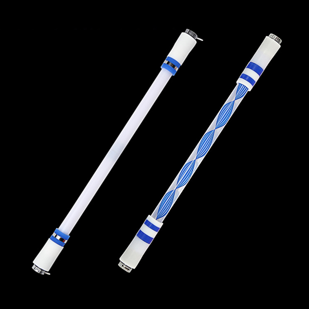Children Colorful Special Illuminated Anti-fall Spinning Pen Rolling Pen  A1+A15 (lighting) color random