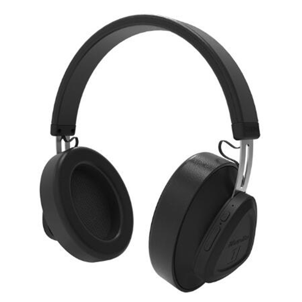 Bluedio TM wireless Bluetooth Headphone with Microphone Monitor Studio Headset for Music and Phones Support Voice Control black