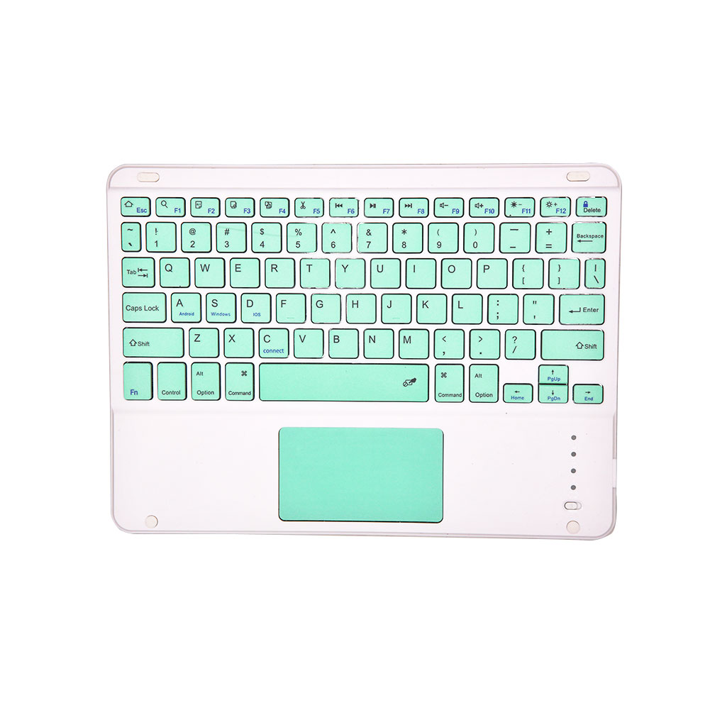 Tablet Wireless Keyboard Bluetooth Keyboard for IOS requires a version of IOS13 or above green