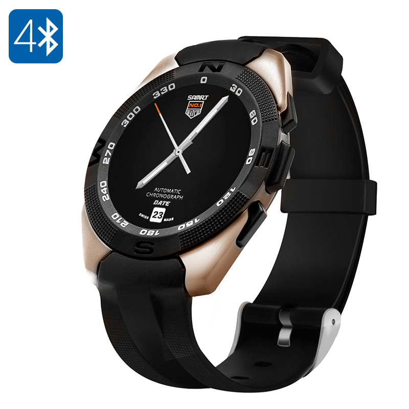 NO.1 G5 Smart Watch (Gold)