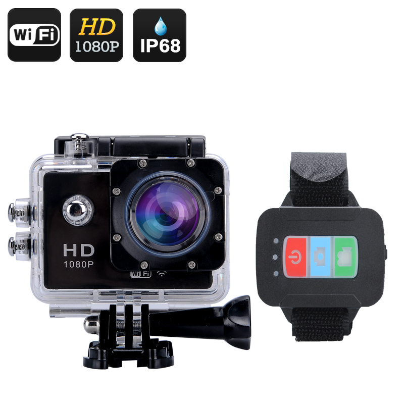 Q3 Wi-Fi Sports Action Camera (Black)