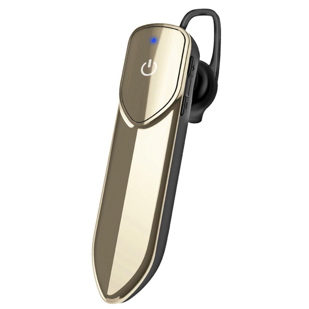 V19 In-ear Wireless Bluetooth 4.1 Earbud Headphone Stereo Headset Handsfree Earphone Wireless Earphones Gold