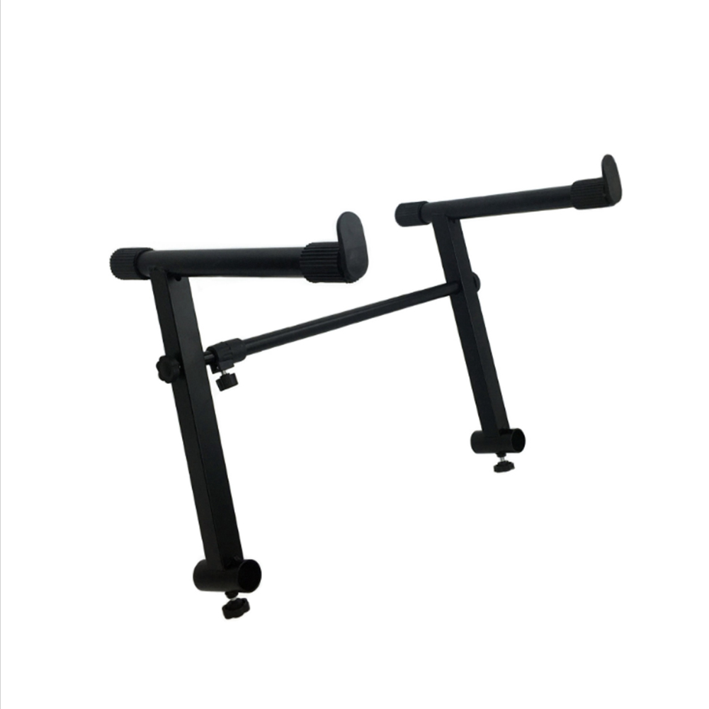 Universal Heightening Adjustable Stand for X-type Electronic Piano Stand black