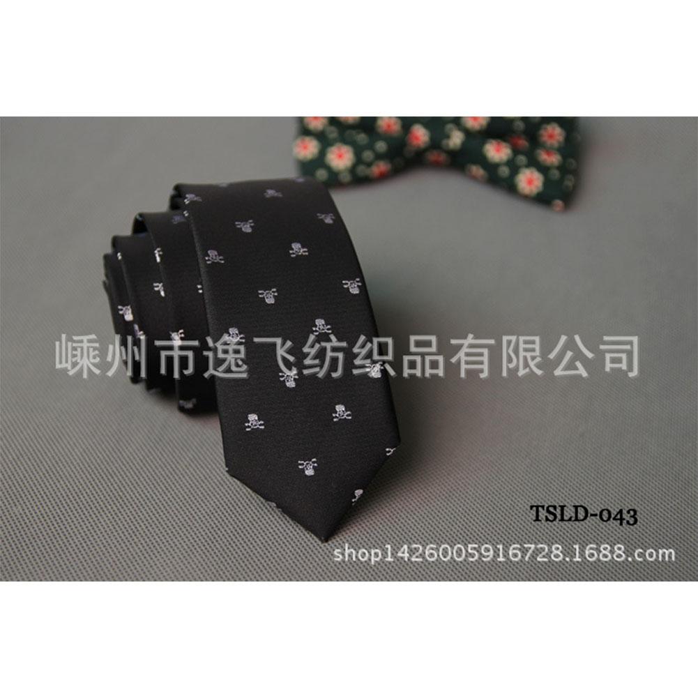 5cm Skinny Tie Classic Silk Solid Dot Narrow Slim Necktie Accessories Wedding Banquet Host Photo TSLD-043